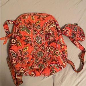 Call Me Coral Vera Bradley Backpack & Wallet